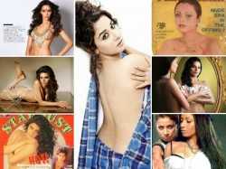 Controversial Photoshoots Bollywood
