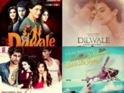 Fan Made Posters Of Shahrukh Khan S Dilwale