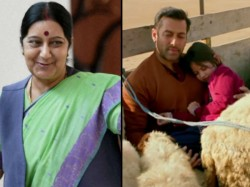 Not Reel But In Real Life This Is How Sushma Swaraj Becomes Bajrangi Bhaijaan