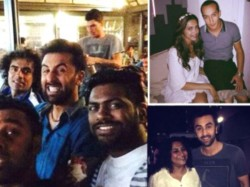 Leaked Pictures Ranbir Kapoor And Deepika Padukone Having Fun On The Sets Of Tamasha