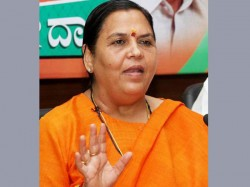 I Am Not Yet Married No Scope Now Says Uma Bharti