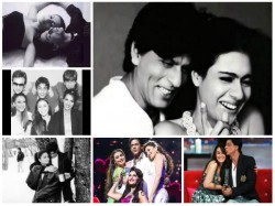 Unseen Flashback Pictures Of Shahrukh Khan With Aishwarya Kajol Priyanka