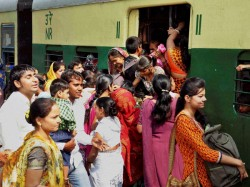 Now Ladies Passengers Blocked Rail Line In Bangaon Section