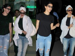 Pictures Rekha Looks Hotter Than Deepika Padukone At Mumbai Airport