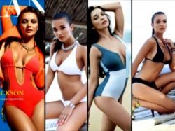 Pics Of Hot Amy Jackson In Skimpy Bikini