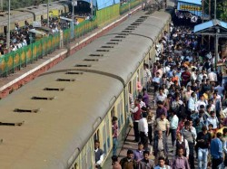 Again Matribhumi Local Train Blocked In Bangaon Section