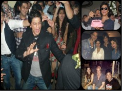 Unseen Inside Pictures Of Shahrukh Khan From Bollywood Parties