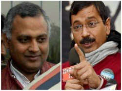 Arvind Kejriwal Does A U Turn Says Somnath An Embarrassment To The Party