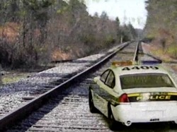 Dont Follow Gps Blindly Car Landed On Train Tracks In Australia