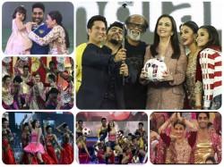 Pics Aishwarya Rai Aaradhya Abhishek Alia Arjun Kapoor At Isl 2015 Opening Ceremony