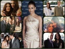 Pics Aishwarya Rai Bachchan Getting Cozy With Hollywood Stars