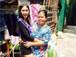 Rubbish Collectors Daughter Wins Miss Thailand Beauty Contest