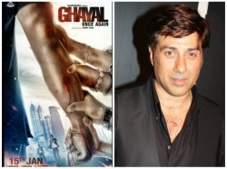 Report Sunny Deol Reveals First Poster Of Ghayal Once Again