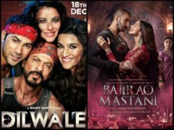 Shahrukh Khan Dilwale Beats Bajirao Mastani In Screen Count
