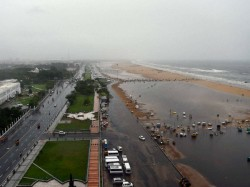 Chennai Airport Flooded Army Out For Relief As Rain Pounds Tamil Nadu
