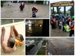 Significant Picture Heavy Rain Brings Chennai To A Standstill