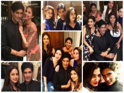 Manish Malhotra Birthday Bash Inside Pics Kareena Alia Sridevi Shilpa