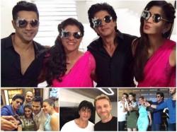 Shahrukh Khan Kajol Practise Romantic Scenes Dilwale