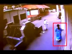 Bengaluru Depressed Woman Ends Life Suicide Caught On Camera Video