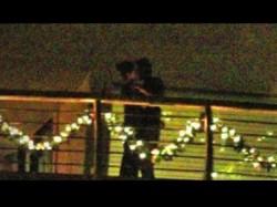 Ranbir Kapoor And Katrina Kaif Kiss Each Other At Their Balcony