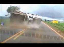 Miraculous Escape Watch Video How Driver Escapes Death After Horrific Accident