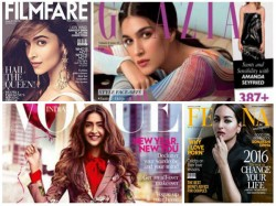 Bolly Fashion Stars In Magazine Covers Ranveer Dipeeka January