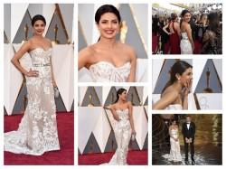Priyanka Chopra Oscars 2016 Red Carpet Presenting 88 Academy Award