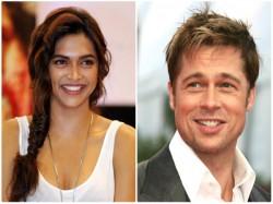 Deepika Padukone Signs Film Opposite Brad Pitt