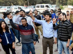 Jnu Row Delhi Police Says Enough Evidence Sedition Charges