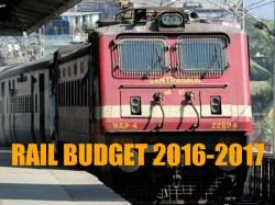 Updates Suresh Prabhu Railway Budget 2016 Passengers Fares