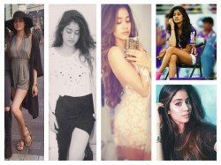 Hot Pictures Of Jhanvi Kapoor Sridevi Boney Daughter