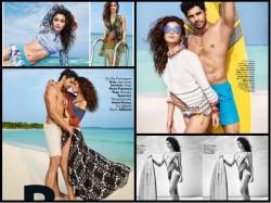 Alia Bhatt Sidharth Malhotra New Hot Sensuous Pics Vogue Photoshoot