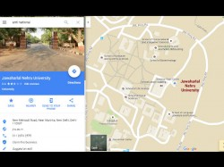 Now Google Maps Search For Anti National Leads To Jnu