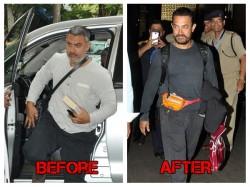 Aamir Khan Lean Avatar Pics Post Weight Loss Trip Usa