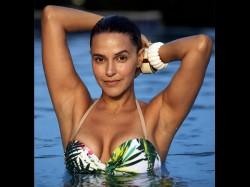 Bikini Shopping Neha Dhupia Hunts For The Best Bikini In Fiji