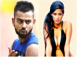 T20 Wc Now Poonam Pandey Gives Strip Gift Team India Virat Kohli