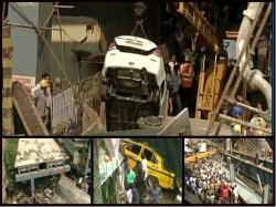 In Pics Vivekananda Bridge Collapses In Central Kolkata