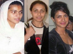 Strange Pictures Of Bollywood Actresses Without Makeup