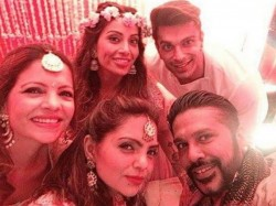 Bipasha Basu Mehendi Ceremony Inside Pictures Shilpa Shetty Spotted