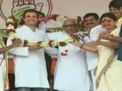 Historic Frame Buddhadeb Bhattacharya Shares Stage With Rahul Gandhi