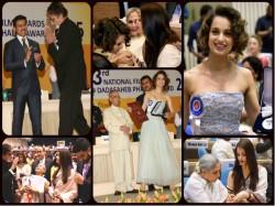 National Awards Ceremony Pictures Kangana Amitabh Aishwarya Rai Others