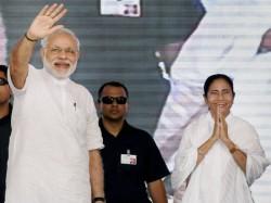 Pm Narendra Modi Congratulates Tmc Supremo Mamata Banerjee On Victory