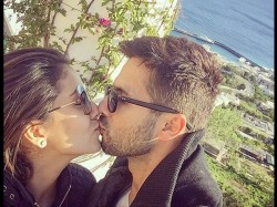 Shahid Kapoor Shares Liplock Mira Rajput First Wedding Anniversary Pic