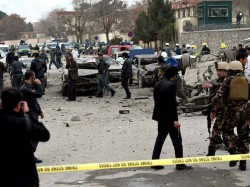 Twin Blasts Rip Through Kabuls Mass Demonstration Afghanistan