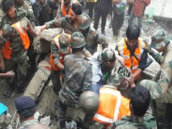 Darjeeling Building Collapse Four People Dead Rescue Operations On