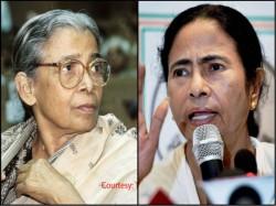 Mamata Banerjee Pays Tribute To Mahasweta Devi Kolkata