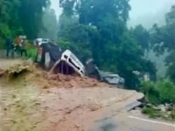 Video Car Washed Away In Heavy Flooding In Kotdwar Uttarakhand