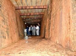 Metre Long British Era Bunker Discovered Raj Bhavan Maharashtra