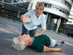 Two Women Fainted Street Following Epic 8 Hour Argument China