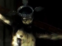 Statue Jesus Opens Eyes Paranormal Investigators Baffled Mexico